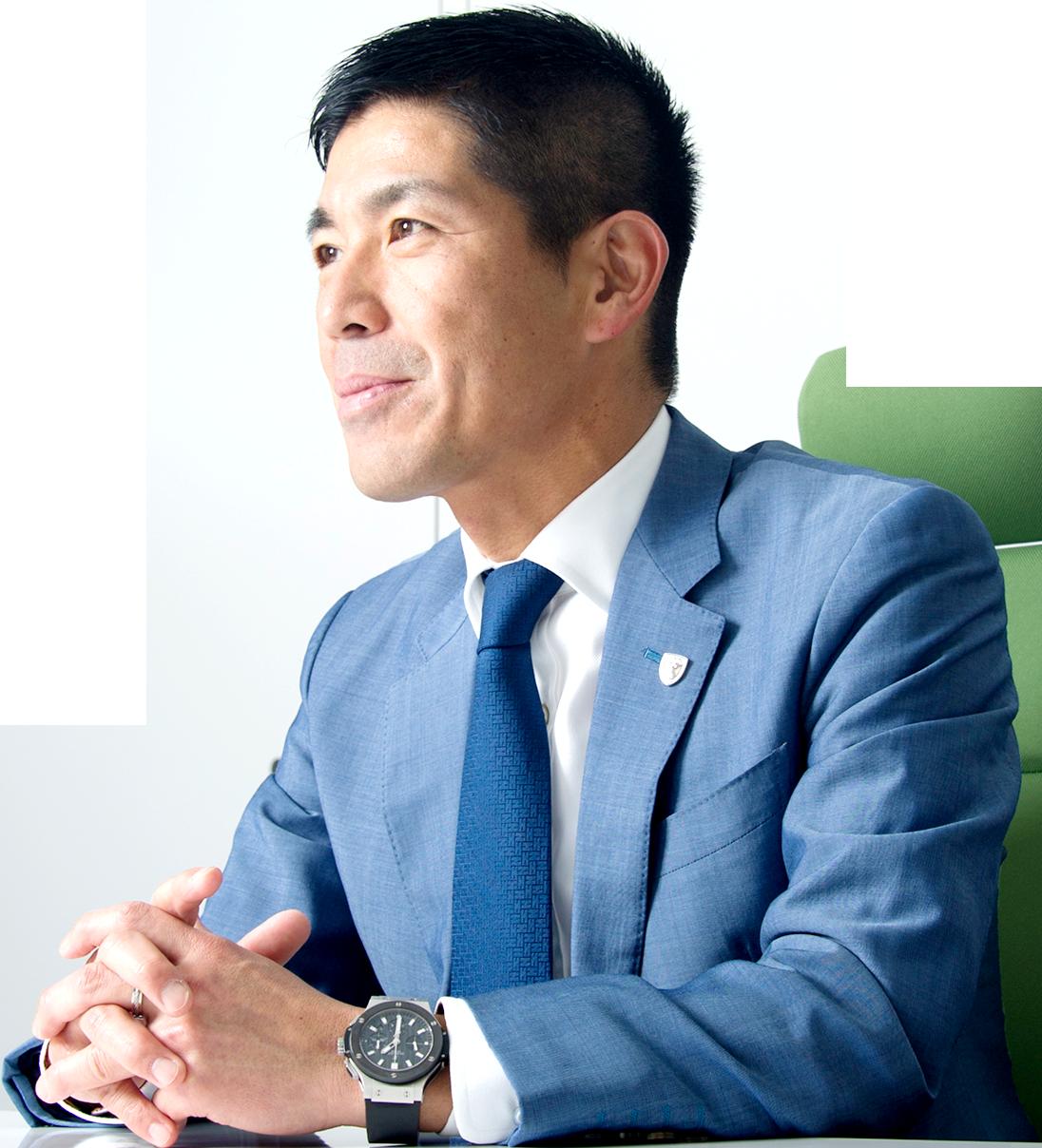 小野 大社長の写真